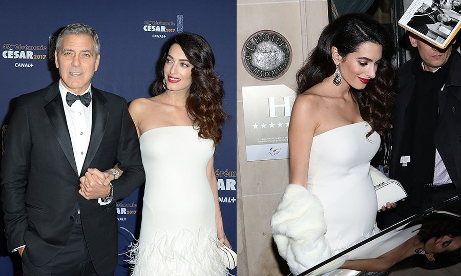 Amal Clooney makes first red carpet appearance since pregnancy news