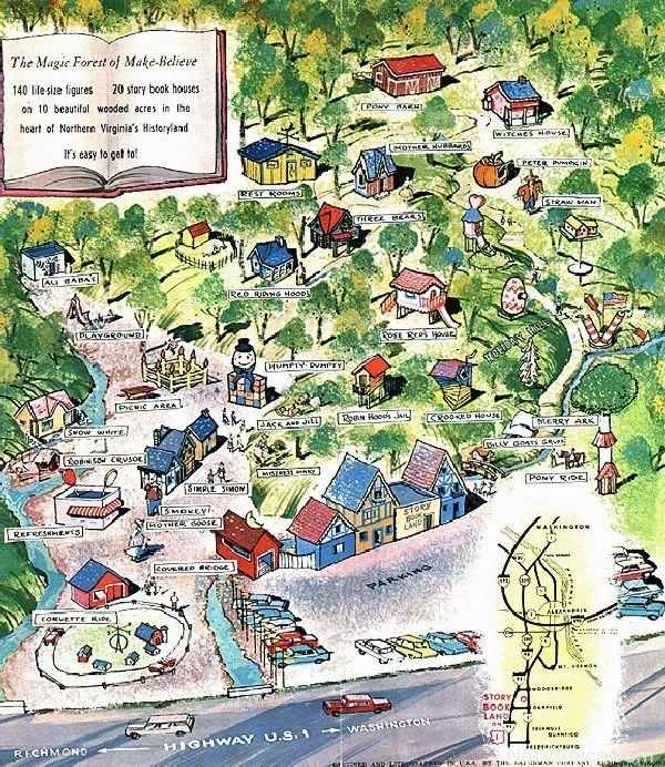Wood Bridge, Storybook, Disney