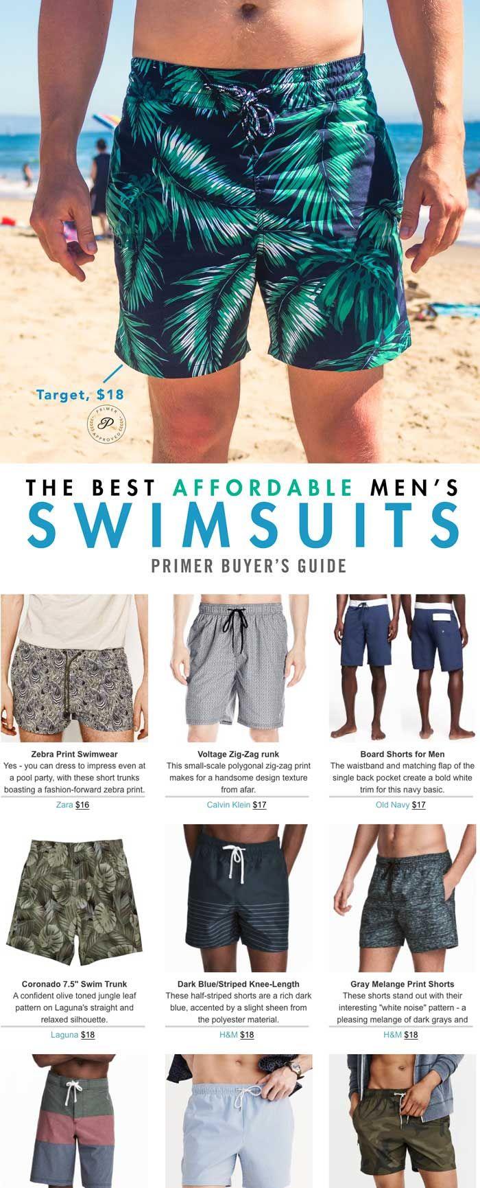 aa93d3c41f The Best Affordable Men's Swim Trunks | GQ | Swim trunks, Man ...