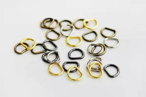 Anéis de fivela de cinto 3mm