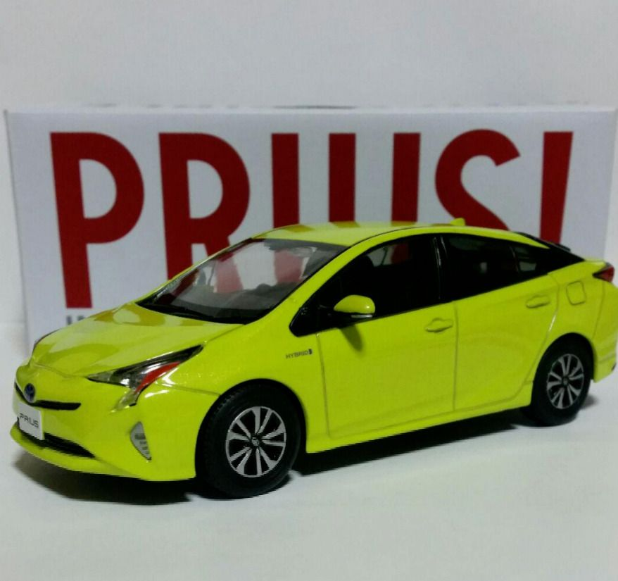 Toyota Prius Storefront Display Items Lime Green Not Sold In