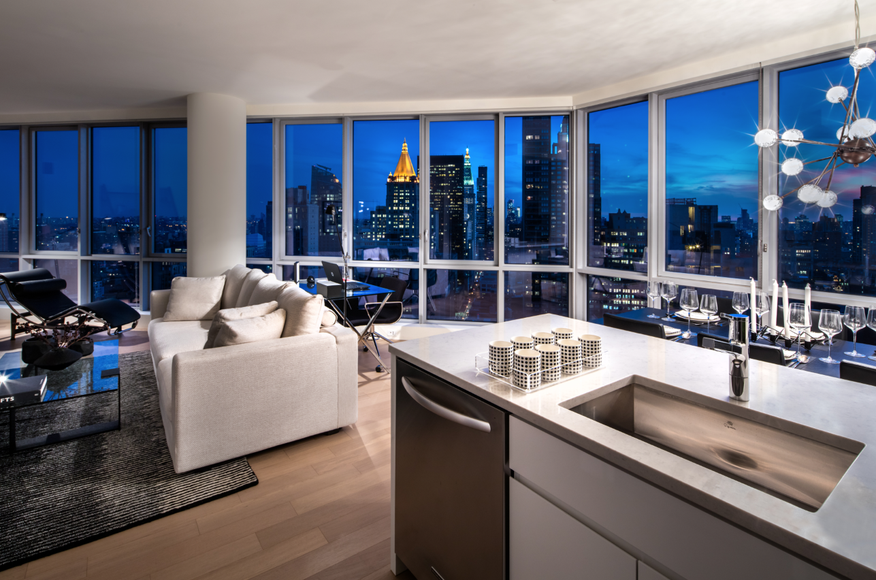 One Sixty Madison is a newly developed luxury rental tower ...