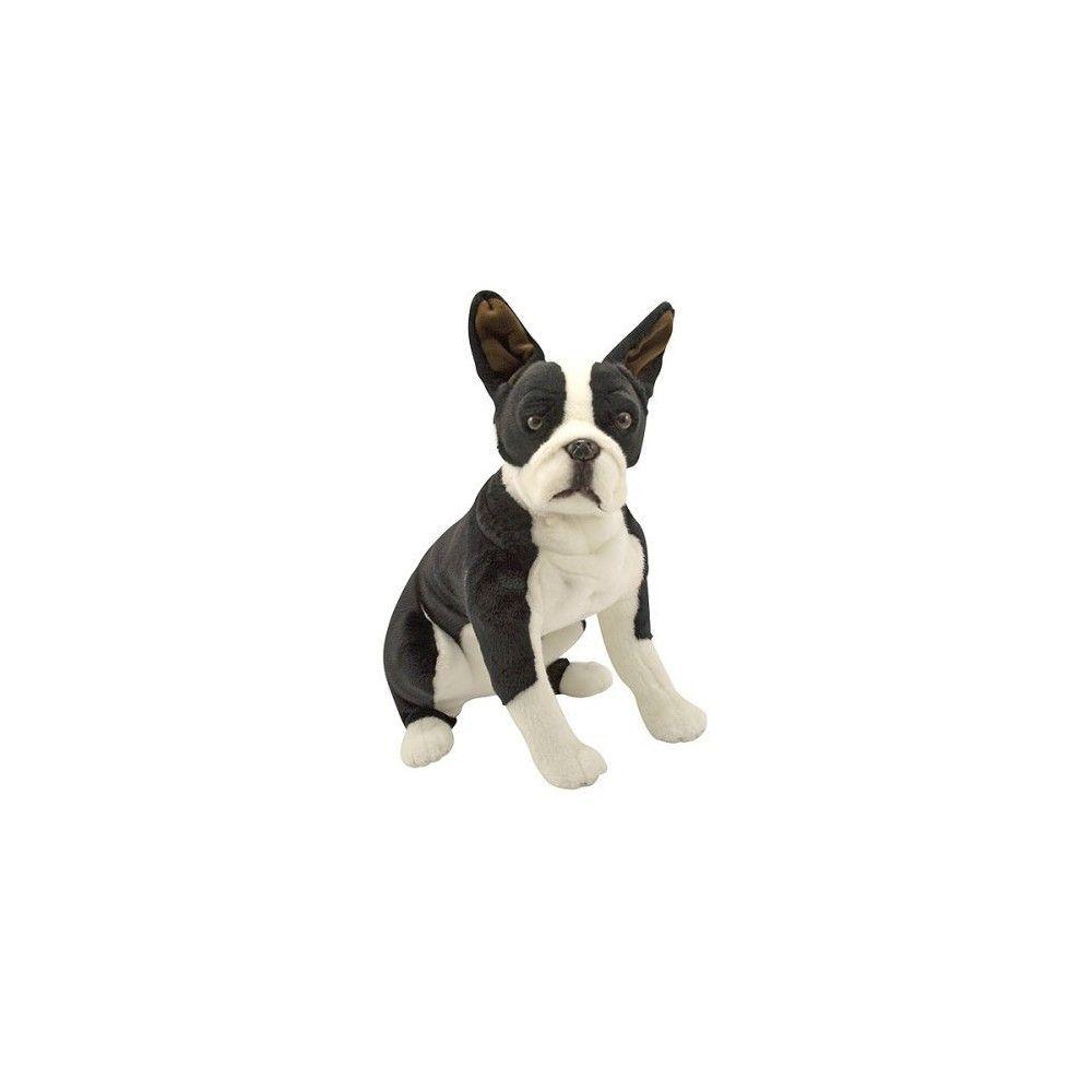 Melissa Doug Giant Boston Terrier Lifelike Stuffed Animal Dog