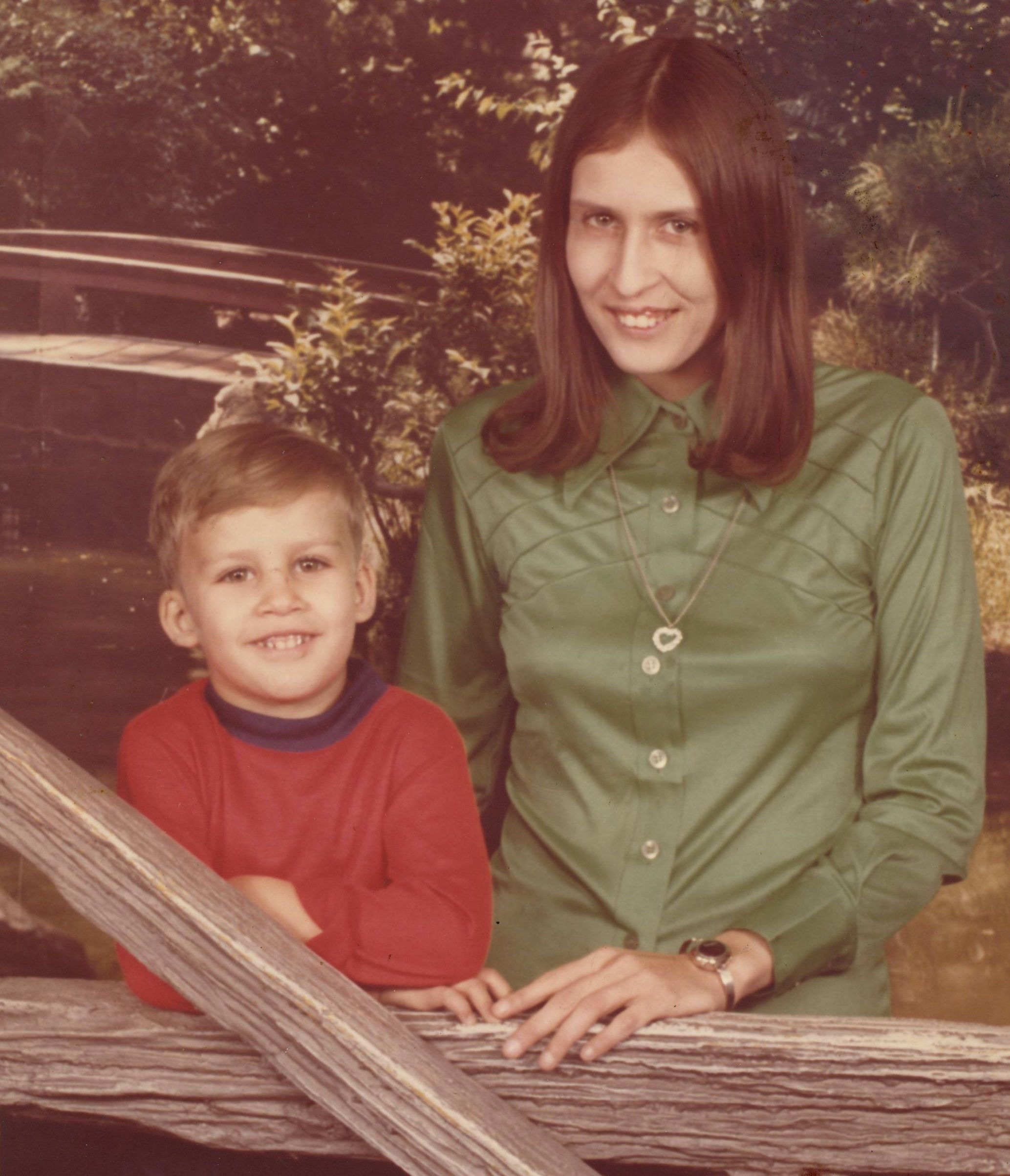 Me and my Mom. 4 months before me getting burned 78% of my body!