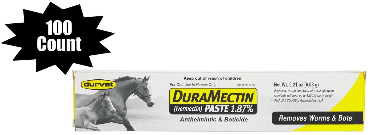 Duramectin paste horse wormer 187 ivermectin horse