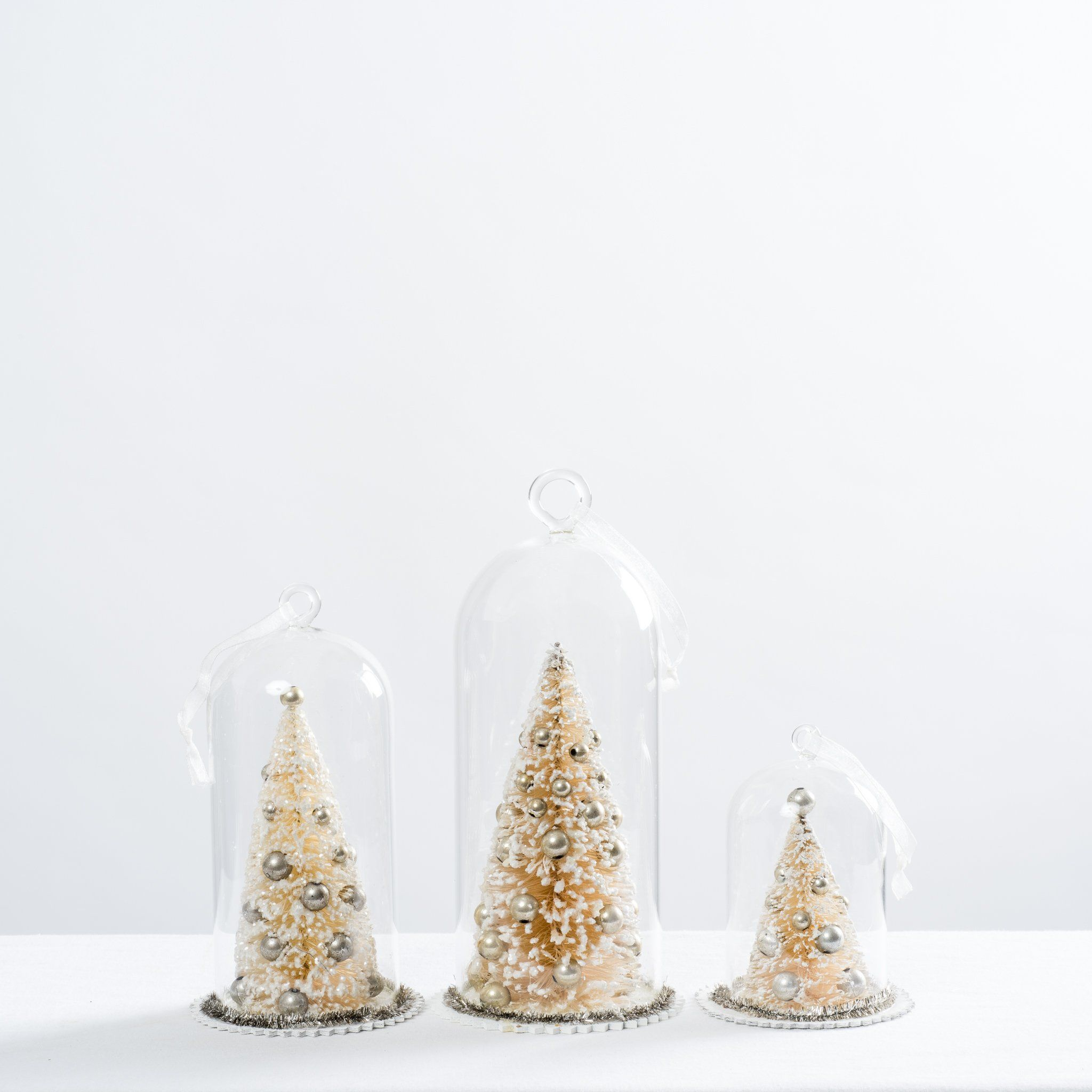 1b0f0bddfc6520 White Christmas Tree Cloche Ornament - Magnolia Market | Chip & Joanna  Gaines