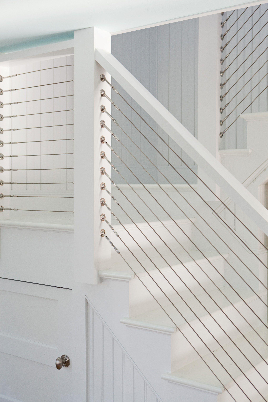 Best Custom Built Cable Stair Railing Interior Stair Railing Diy Stair Railing Cable Stair Railing 400 x 300