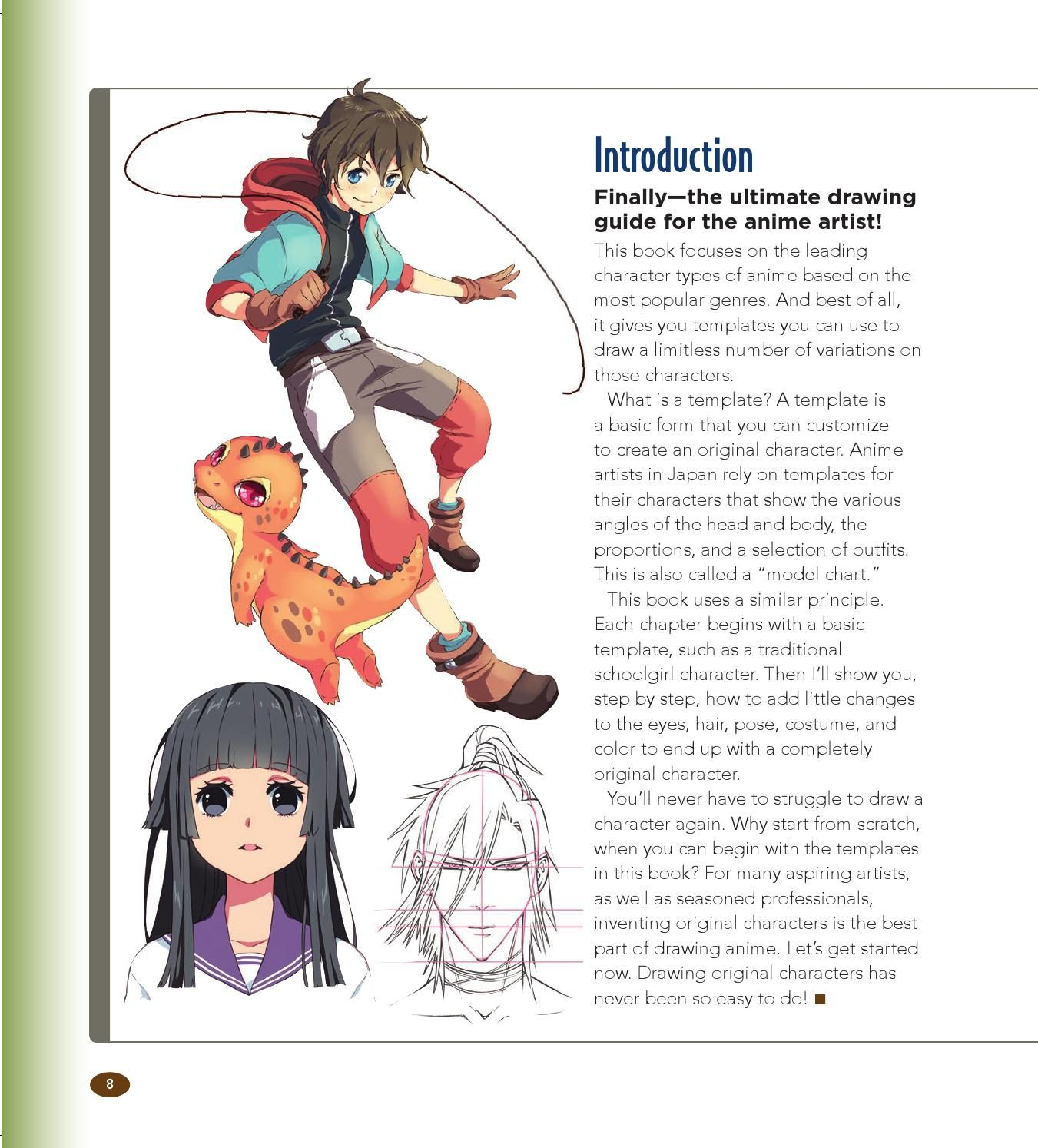 The Master Guide To Drawing Anime How To Draw Original Characters From Simple Templates Popular Anime Graphic Novel Anime