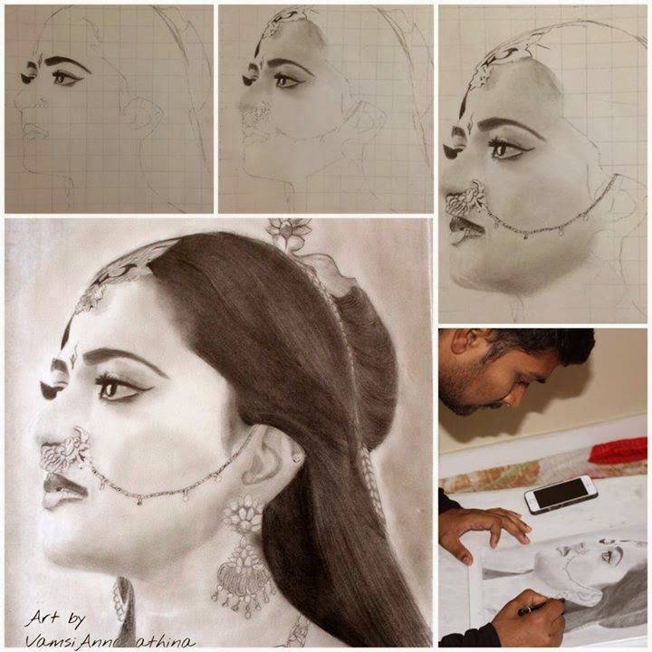 Anushka Beautiful Sketches Beautiful Sketches Sketches