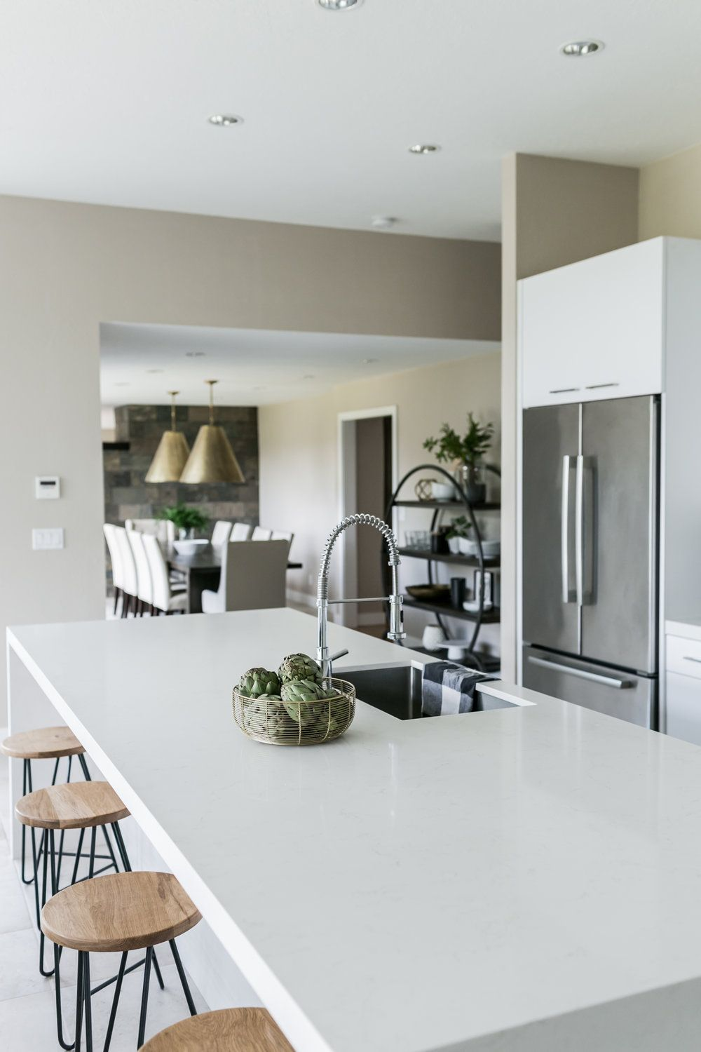 Interior Design Of Kitchen Room: Corvallis Minimal Industrial / Before & Afters