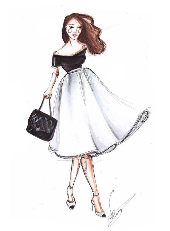 Fashion Illustration Fashion Girl Fashion Print Fashion Sketch Fashion Wall Art Fashion Art Illustration Fashion Girl Fashion Prints Fashion Illustration