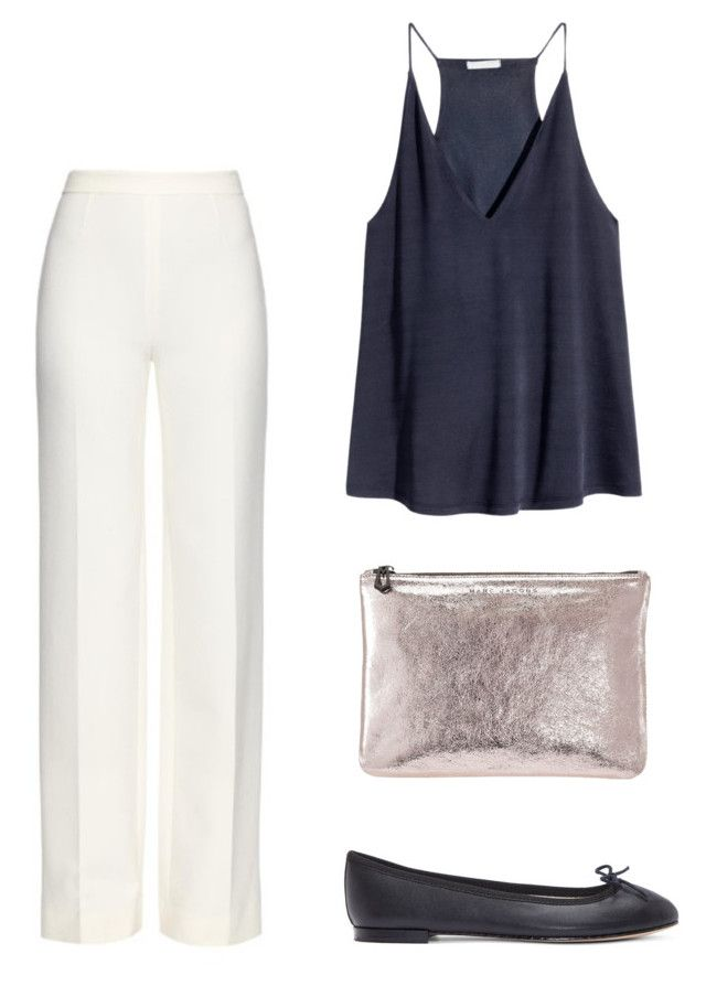 """""""Senza titolo #37"""" by imnotniceatall on Polyvore featuring moda, H&M, Diane Von Furstenberg, Repetto e Marc Jacobs"""