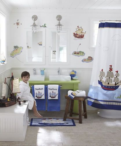 Nice How To Create A Kid Friendly Bathroom   Ideas: Bold Colors, Accessibility  (eg Sturdy Step Stool), Organize / Label By Kid, Laundry Hamper In The Room
