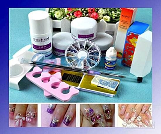Do it yourself acrylic nail kit beauty pinterest pedicures do it yourself acrylic nail kit solutioingenieria Image collections
