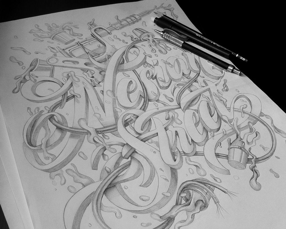 T Shirt Design Line Art : T shirt design nesian street on behance typography pinterest
