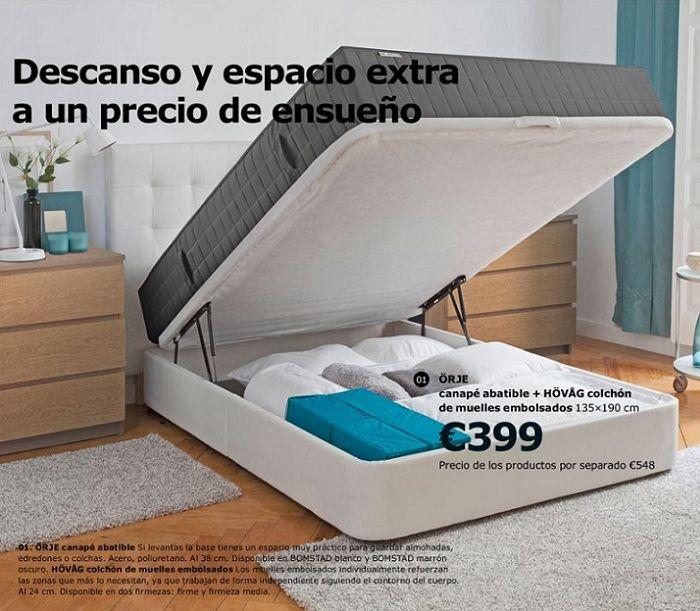Los Canapes Abatibles Ikea Para Un Almacenaje Extra En Tu