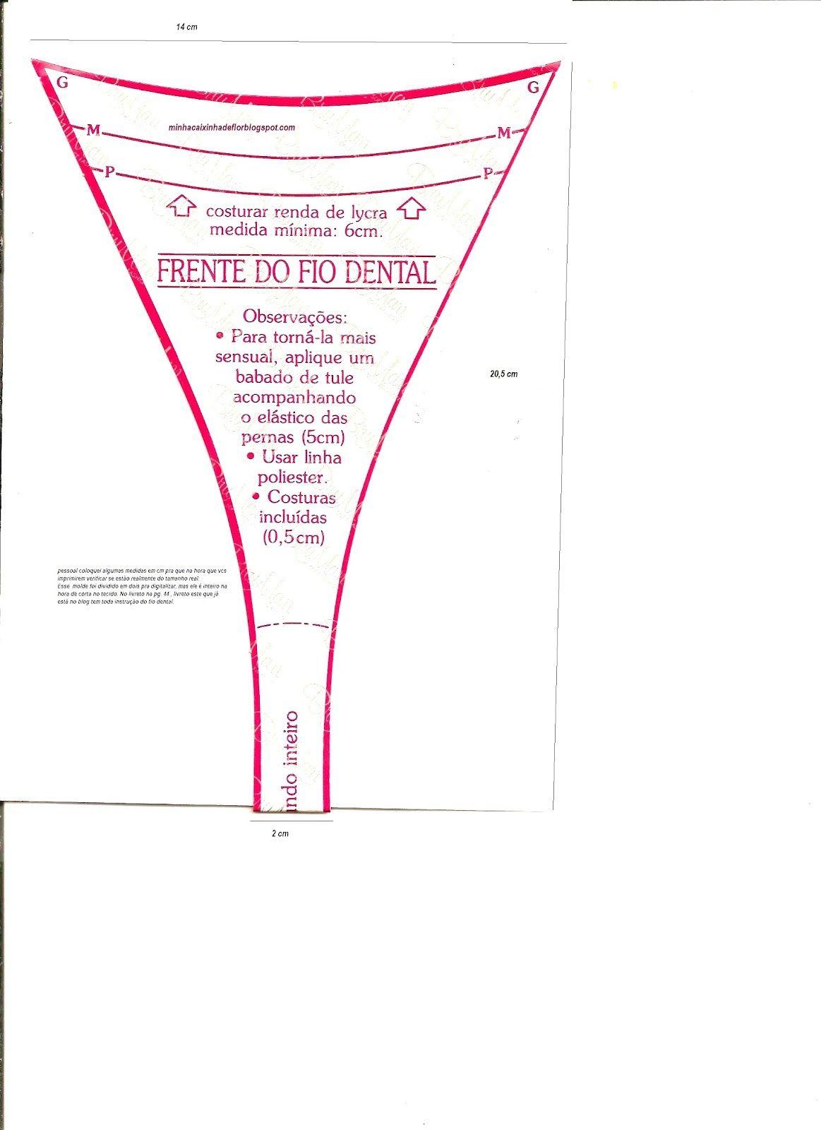 4829ec296 molde de calcinha fio dental - Pesquisa Google