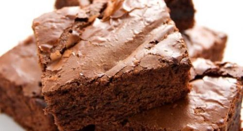 These scrumptious brownies are sure to be gobbled up in minutes.