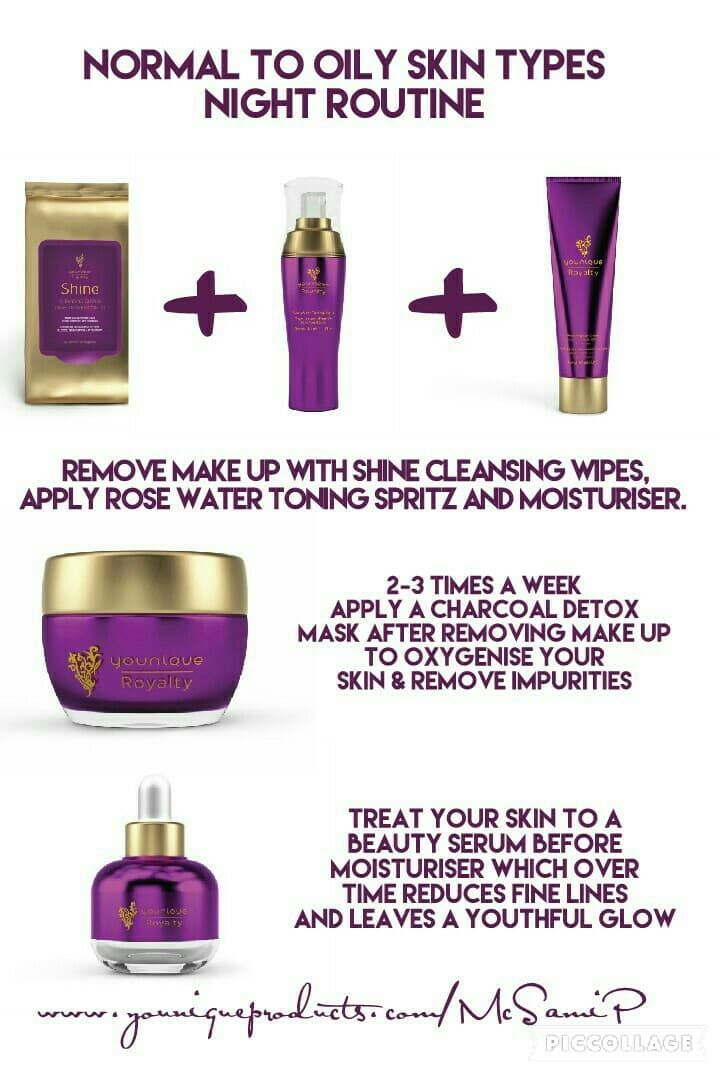 Normal To Oily Skin Types Night Routine Oily Skin Cream For Oily Skin Skin Types