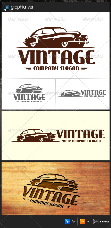 Vintage Car Logo Templates   Pinterest   Car logos, Logo templates ...