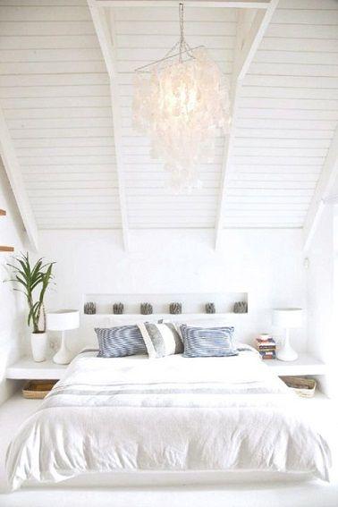 11 chambres blanche pour bien se reposer ! | Élégance, Classe et ...