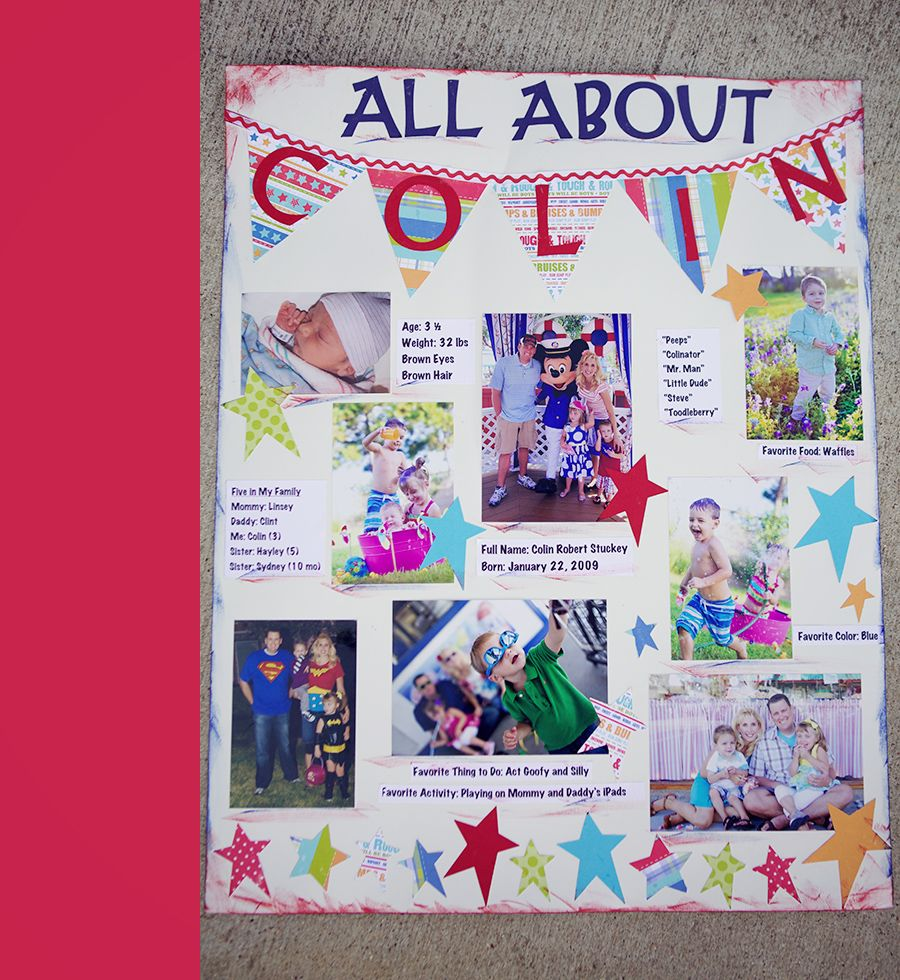 poster craft ideas colin s day of preschool 187 my pre k for aiden 2731