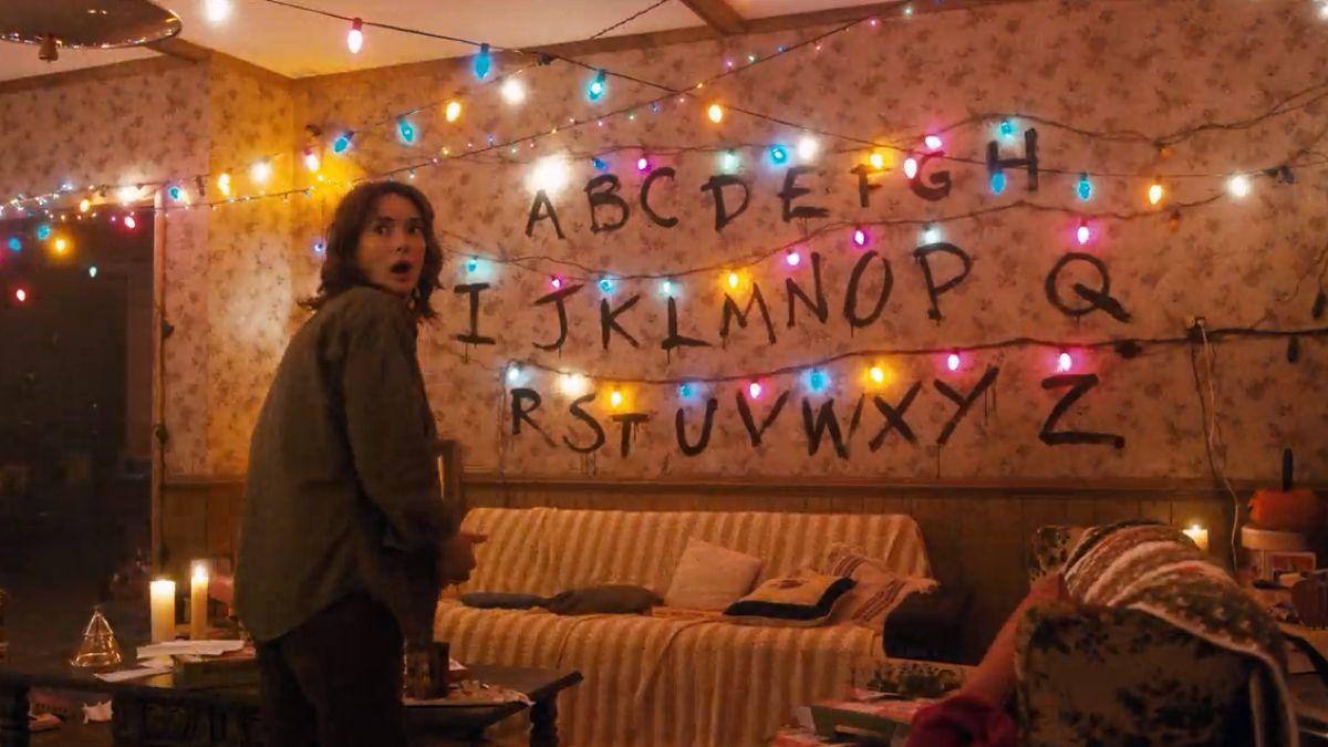 Make Your Own Stranger Things Christmas Light Messages Stranger Things Wall Stranger Things Christmas Stranger Things Alphabet