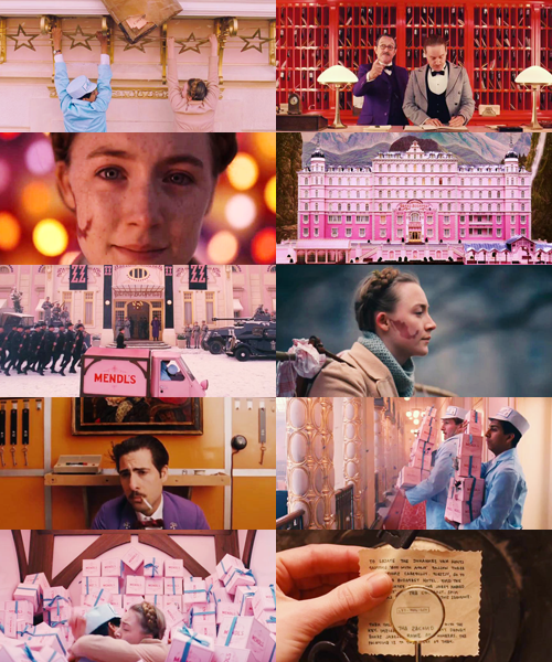 The Grand Budapest Hotel Wes Anderson 3 7 14 Budapest Hotel Grand Budapest Hotel Film Inspiration