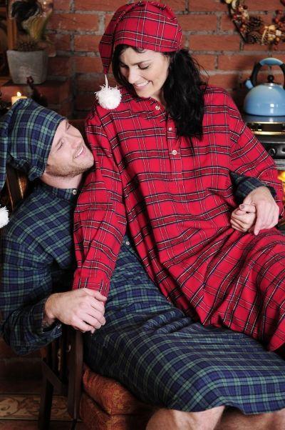 b9c30e3e45 flannel nightshirt - Lee Valley Clothing