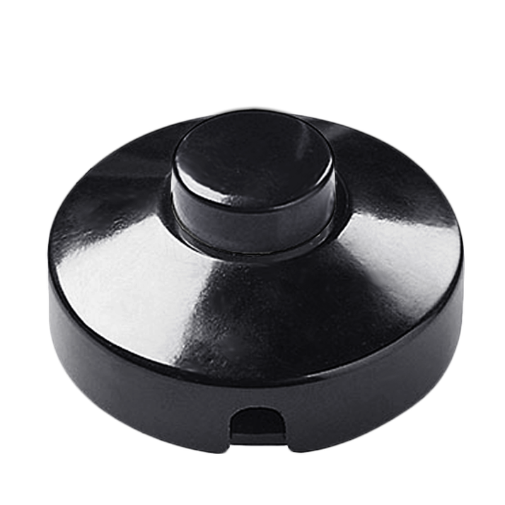 Black foot inline lamp switch light switches dykeanddean 1349 black foot inline lamp switch light switches dykeanddean 1349 aloadofball Images