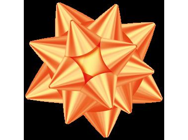 Orange Gift Bow Oranges Gift Gift Bows Design Elements
