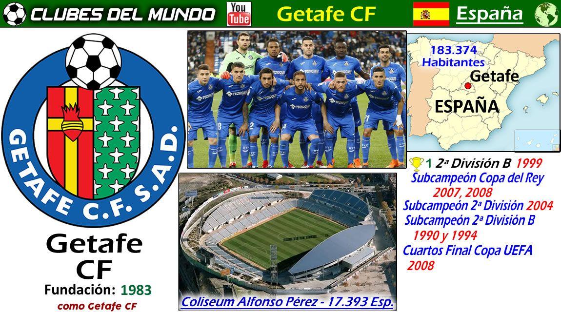 Getafe Cf España Getafe Equipo De Fútbol Club