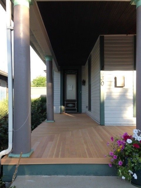 3 1 8 Douglas Fir Porch Decking Clear Finish