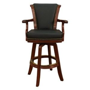 Comfortable Bar Stools With Arms Ahb Napoli 30 In Swivel Bar