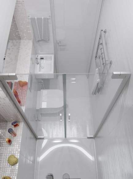 59 Ideas bathroom tiny shower wet rooms #wetrooms