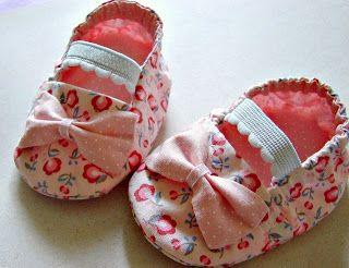Crie e Faça Você Mesmo : Sapatinho de bebê