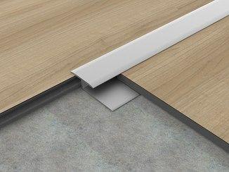 Joint Pour Sol En Aluminium Pronivel H 5 Profilpas Trucs Et Astuces Maison Plancher Joint De Carrelage
