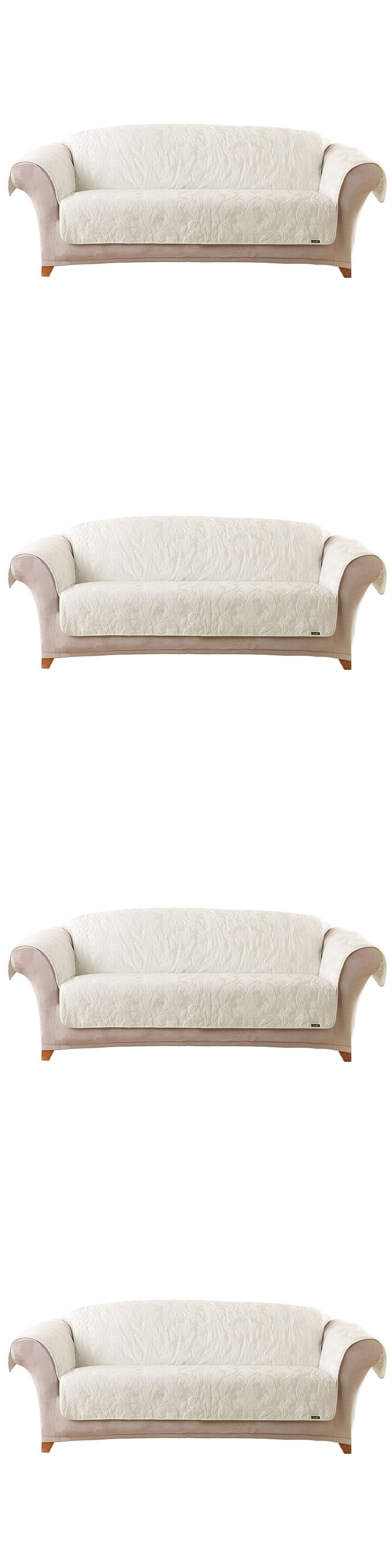 Slipcovers Sure Fit Sofa Cover Cat Furniture Couch