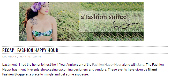 Fashion Soiree Recap April