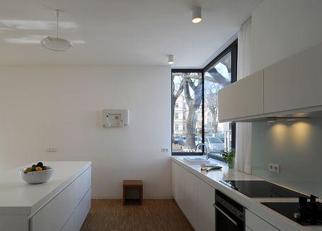 Eckfenster Küche bei Clarkeundkuhn  Fenster  Pinterest  Eckfenster, Küche und Fenster