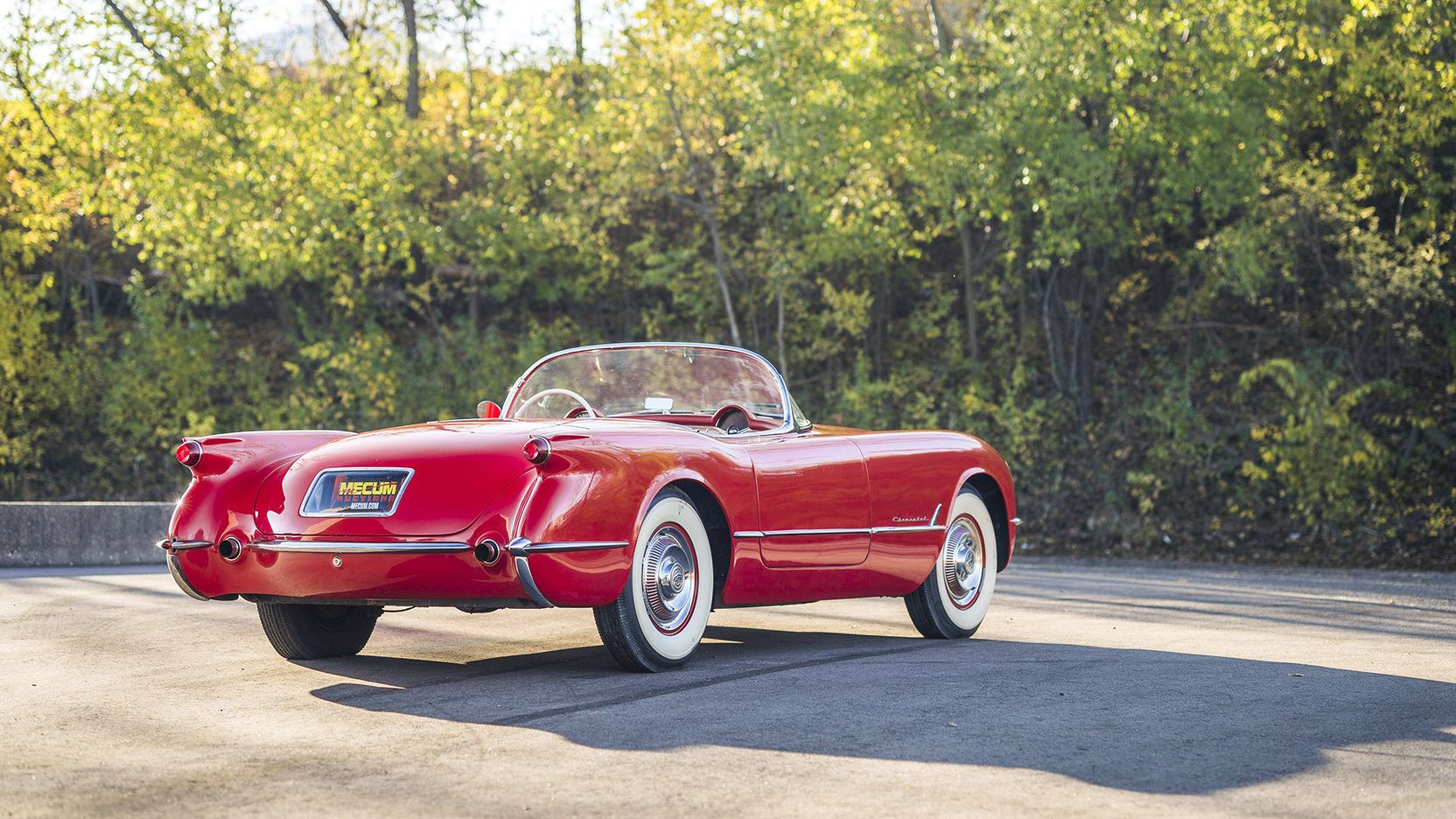 This 1954 convertible is from the Bobby Williams' Collection that will be offered at the Mecum Kissimmee Auction January 2017.