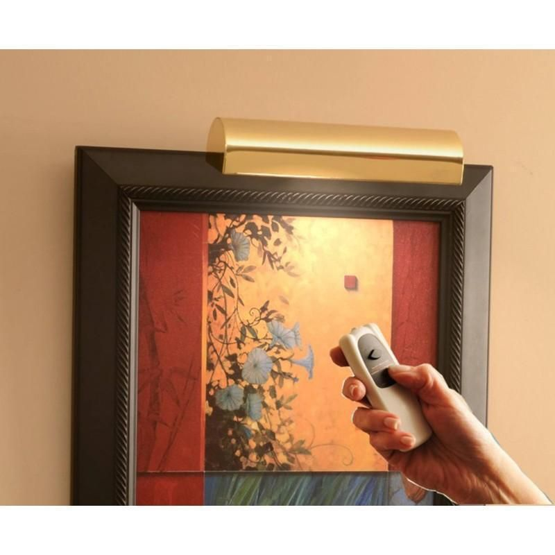 Remote Controlled Cordless Picture Light Picture Frames Light Works Light Clips