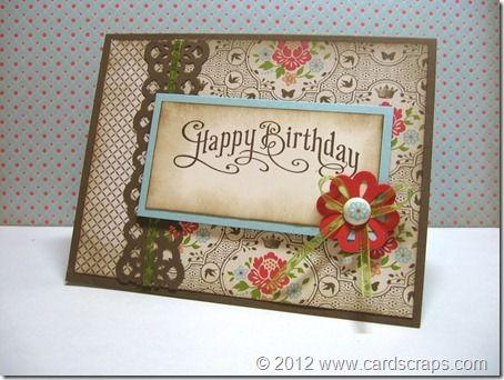Great Birthday Card Card Ideas Pinterest Happy Birthday Cards