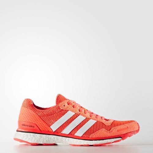 8a2c7f855709 Adidas Adizero Adios 3 Womens Shoes Solar Red White Core Black Aq2433
