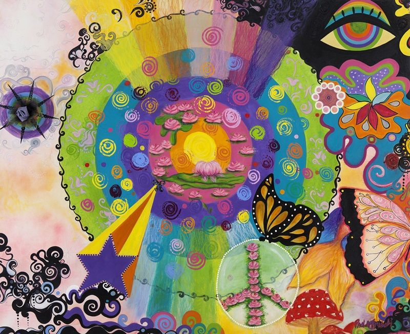 Obra: Universo Feminino, um Mundo encantado Artista: Paola Frisoli