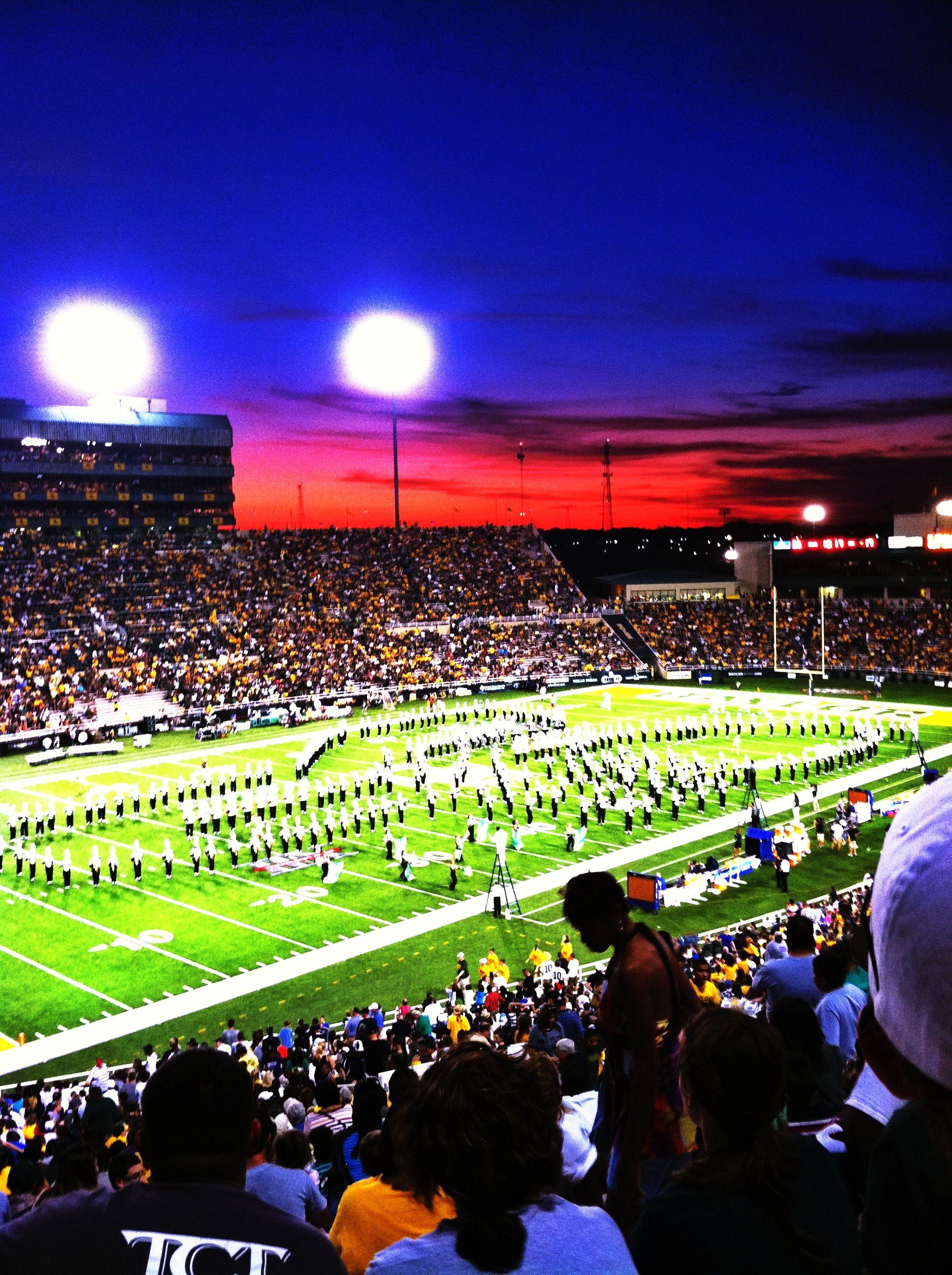 Baylor University Golden Wave Marching Band, Waco, TX