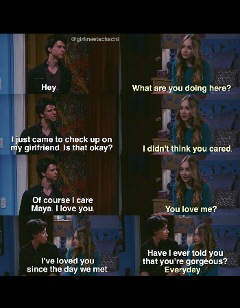 Awwwww Maya And Josh Are Perfect For Each Other Girl Meets World Josh Girl Meets World Cast Girl Meets World