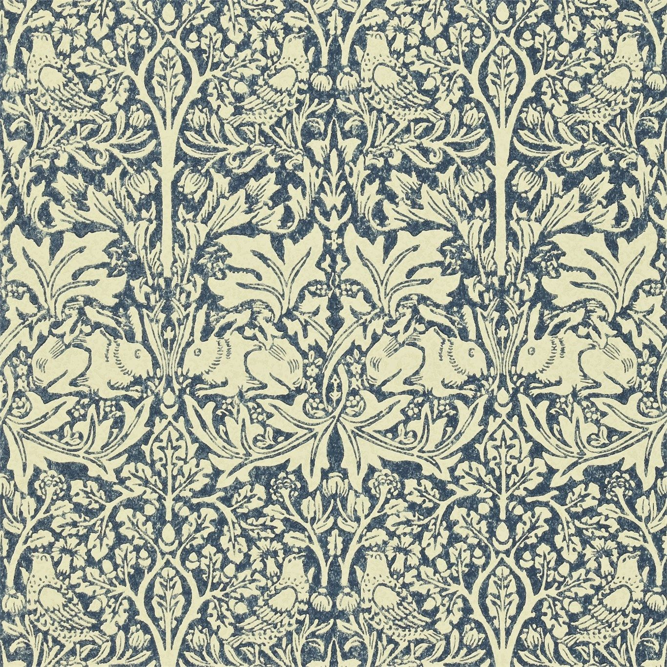 Morris & Co Brer Rabbit Wallpaper William morris