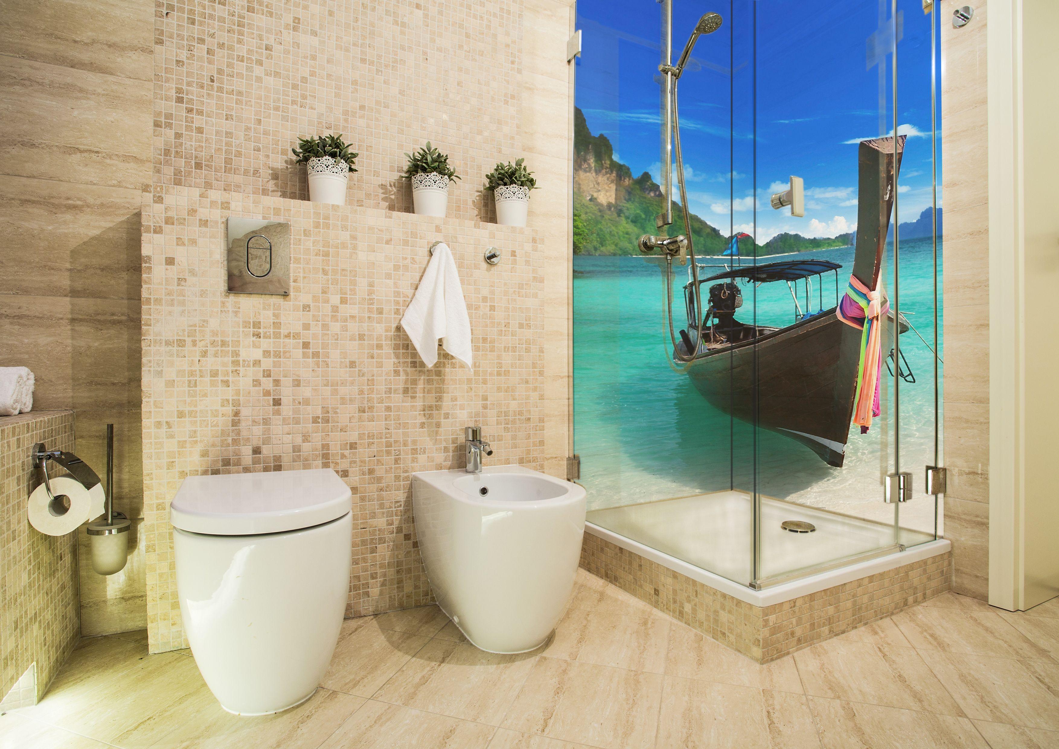Mach Dein Bad Zu Einer Wohlfuhloase In 2020 Duschruckwand Dusche Duschruckwand Glas