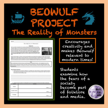 Beowulf The Reality Of Monster Project Literary Analysis Analytical Essay On